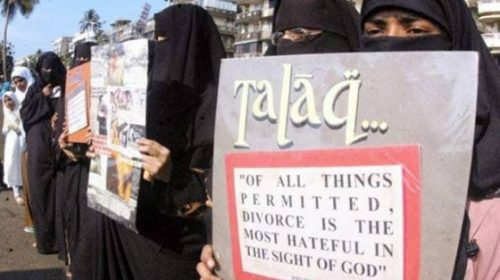 Instant triple talaq to be a criminal offence now, Centre approves Ordinance