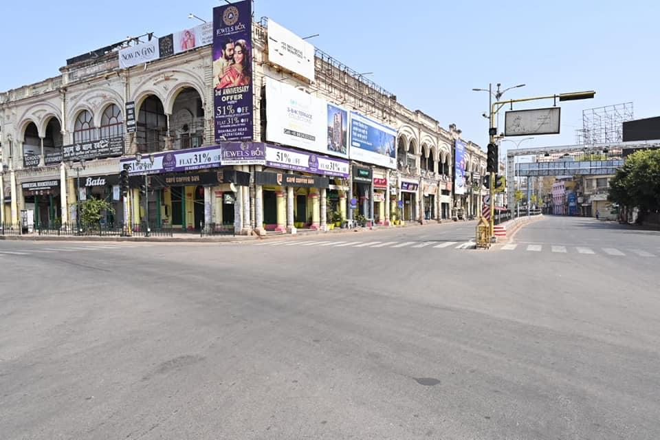 Atal-chowk-in-Hajratganj-Lucknow